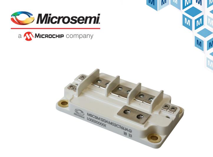 Microchip AgileSwitch相臂功率模塊貿澤開售