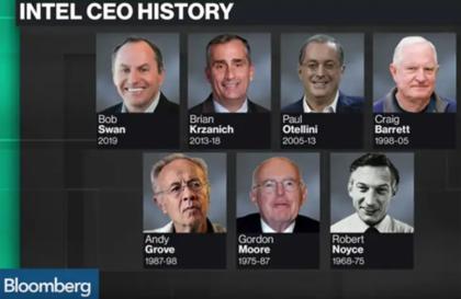 尽管Intel目前困难重重,但仍然是半导体界领袖