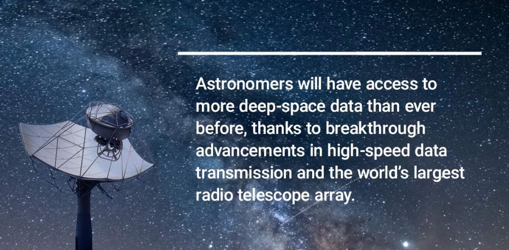 德州仪器如何帮助全球最大射电望远镜实现精准和同步