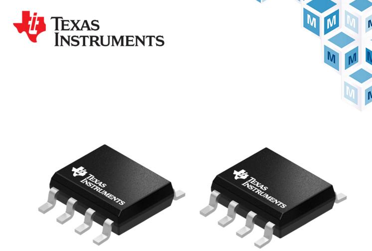 TI TLV915x运算放大器以及12位 ADC贸泽开售