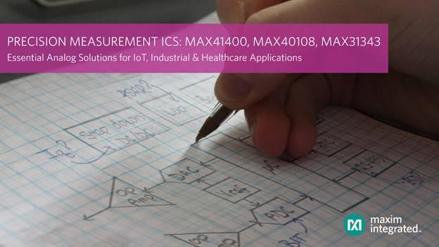 Maxim高jing度测量IC,为IoT,医疗应用带来chi久动力