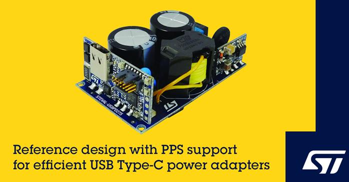 ST推chuUSB Type-C Power Delivery,可支持可bian程dian源