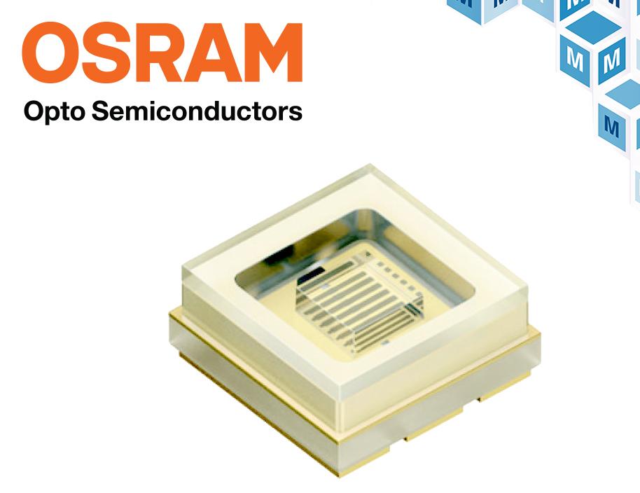 Osram首款UV-C LED 貿澤開售