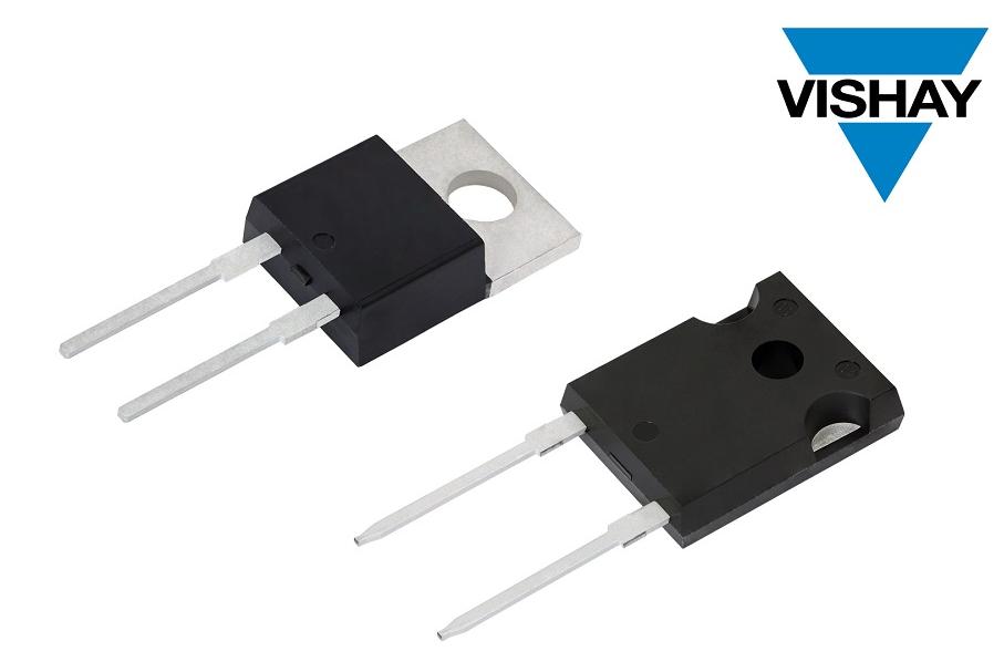 Vishay推出第五代FRED Pt? 600 V Hyperfast和Ultrafast整流器