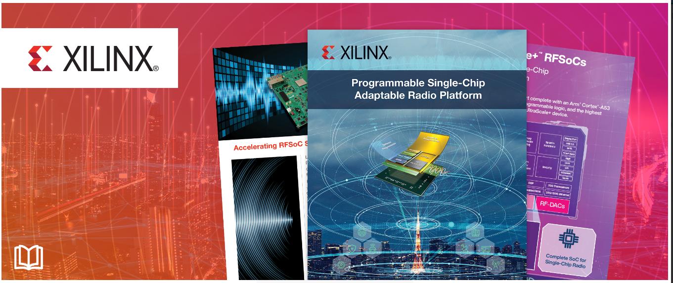 贸泽携手Xilinx出电子书 挖掘单芯片自适应无线电平台优势