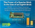 EPC推出超高功率密度1226 W/in3、1kW的48 V/12 VLLC轉換器