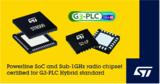 ST发布G3-PLC Hybrid电力线和无线融合通信认证芯片组