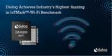 <font color='red'>Dialog半导体</font>公司IoTMark™-Wi-Fi基准测试中达到行业最高排名