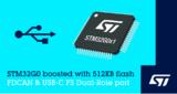 ST 发布新STM32G0微控制器,增加USB和CAN接口和更大存储器