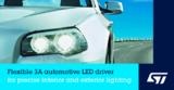 <font color='red'>意法半导体</font>发布高集成度、设计灵活的车规LED驱动器