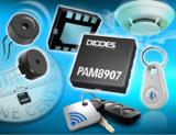 <font color='red'>Diodes</font> 公司推出 22V/31V 峰值的可选择输出压电式发声器驱动器