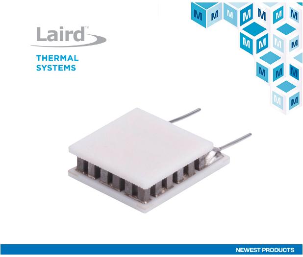 贸泽开售适用于光电、激光雷达等应用的热电冷却器