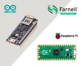 <font color='red'>e络盟</font>现货发售Arduino Nano RP2040 Connect和Raspberry Pi Pico