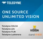 Teledyne 將在Vision 2021展覽會中展示全面的工業和科學成像技術